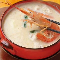 料理メニュー写真我が家の白いトムヤムクン