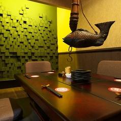 雰囲気○和空間の個室もありますよ。