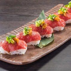 料理メニュー写真■肉寿司~桜肉~