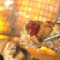 料理メニュー写真若鶏もも炭火焼き【塩】