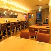 【一階】4名様テーブル席×2卓/最大8名まで可能