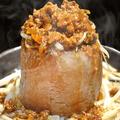 料理メニュー写真肉みそ大根ステーキ