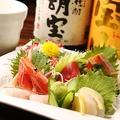 料理メニュー写真九州鮮魚のお刺身盛り合わせ