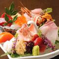 料理メニュー写真旬鮮魚のお刺身 5点盛り合わせ