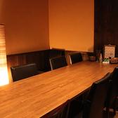 8名様までOK。テーブルの完全個室ございます