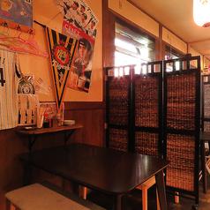 【少人数に◎】小人数のお客様からOKのテーブル席!