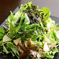 料理メニュー写真和風サラダ