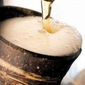 生ビールはキンキンに冷えた陶器のグラスで!