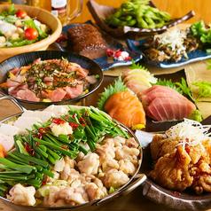 鍋と海鮮和食居酒屋 KANAZAWA SYOTEN 金沢片町店のコース写真