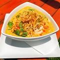 料理メニュー写真南国風カレーヌードル(辛さ2)