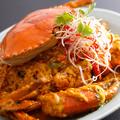 料理メニュー写真蟹カレー