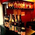 【2階/8名個室】おしゃれバーカウンター完備★お好きなカクテル・お酒をっ。≪お手頃ワイン≫グラス赤・白480円~♪ボトル赤・白2000円~!合計30種以上♪貴方に合うワインが見つかるはず♪♪【塚本/居酒屋/バル/ワイン/イタリアン/女子会/宴会/飲み放題/貸切】
