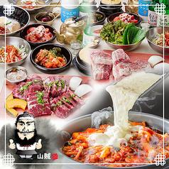 韓国焼肉専門店 山賊