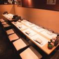 お洒落な和空間は女子会に最適◎2時間飲み放題付プランは4000円より。温かいお鍋付プランもご用意しております。