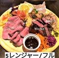 料理メニュー写真肉盛り戦隊 5レンジャー フル/トリオ/コンビ