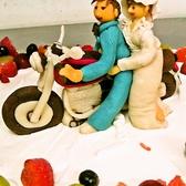 結婚式2次会にはオーダーメイドケーキもご用意いたします。(※要相談)