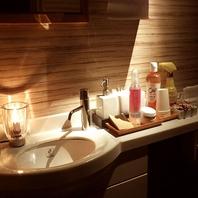 トイレは、清潔で心地のよい空間作り