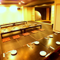 【2F】最大50名様までのお座敷個室席です。