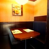プライベート感MAXの個室はデートやお食事に!