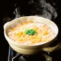 料理メニュー写真鍋の〆にご飯もオススメ♪