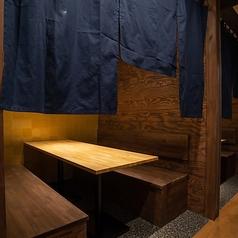 和風の隠れ家をイメージした店内は小田原でのデートや合コン等にも最適です。落ち着いてお食事されたい方にお勧めのお席をご用意しています。ぜひお気軽にご連絡ください。