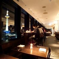 京都の夜景を一望!特等席で楽しむイタリアン!