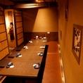 人数に合わせて個室にご案内します。4名~6名の飲み会に最適。