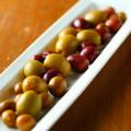 料理メニュー写真スペイン産オリーブいろいろ