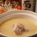 料理メニュー写真濃厚コラーゲン水炊き鍋
