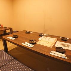 アットホームが人気のお座敷個室は最大9名様OK!別のお客様とお席が近くならないように配慮しております。