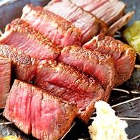 肉料理に自信!熟成牛を使用したお料理各種!