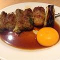 料理メニュー写真sukiyaki串