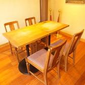 2Fテーブル席。