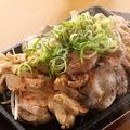 料理メニュー写真鶏の三種いため