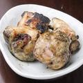 料理メニュー写真健味鶏のもも焼き