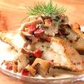 料理メニュー写真カラスガレイのムニエル~3種のきのことゴルゴンゾーラソース~