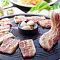 料理メニュー写真ENG特製ネギ塩サムギョプサル