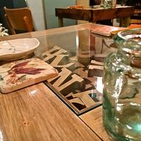 【一つ一つ味のある】テーブル・椅子・コースターetc