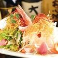 料理メニュー写真雫の海鮮サラダ
