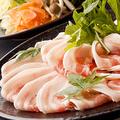 料理メニュー写真国産豚カルビ・ロースのしゃぶしゃぶ食べ放題