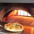 《最高の料理をお約束します!!》超本格窯焼きピッツァをはじめ、3つ星レストランで修業したシェフがプロデュースする料理はどれも絶品♪