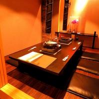 上質な空間…掘りごたつ完全個室あり!