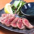 料理メニュー写真牛タンステーキ(Rサイズ)