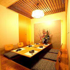 少人数のお客様用の個室もございます。