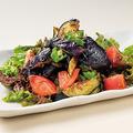 料理メニュー写真揚げ茄子の和風サラダ