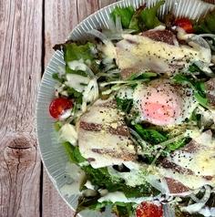 生ハムイタリアンサラダ/冷しゃぶゴマドレサラダ/蒸し鶏シーザーサラダ/豆腐チョレギサラダ