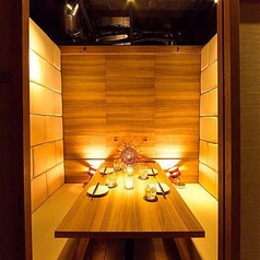 6名様からの個室もご用意しております。新横浜で完全個室居酒屋のご宴会/誕生日/記念日/女子会をお探しなら当店へ★※系列店舗との併設店舗となります【完全個室完備】