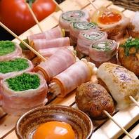 串焼き・名物特製つくねなどもご用意あり!