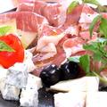 料理メニュー写真イタリア4種盛り