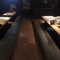 ゆったりとした宴会用個室です。最大で30名様までご利用いただけます♪